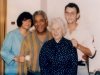 1984 Los Angeles  Dizzy, nonna, mom snapseedfilter