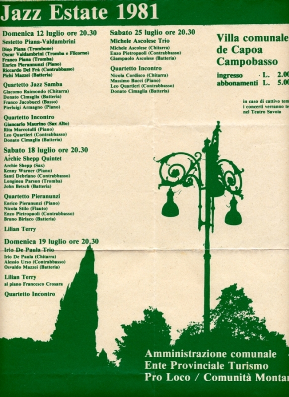 1981 Campobasso Jazz Festival