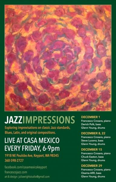 Jazz Impressions Dec 2017 poster 11X17