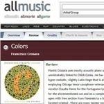 "1999 CD Review: ""Colors"" – All Music Guide"