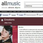 """2003 CD Review: """"Emotions"""" – All Music Guide"""